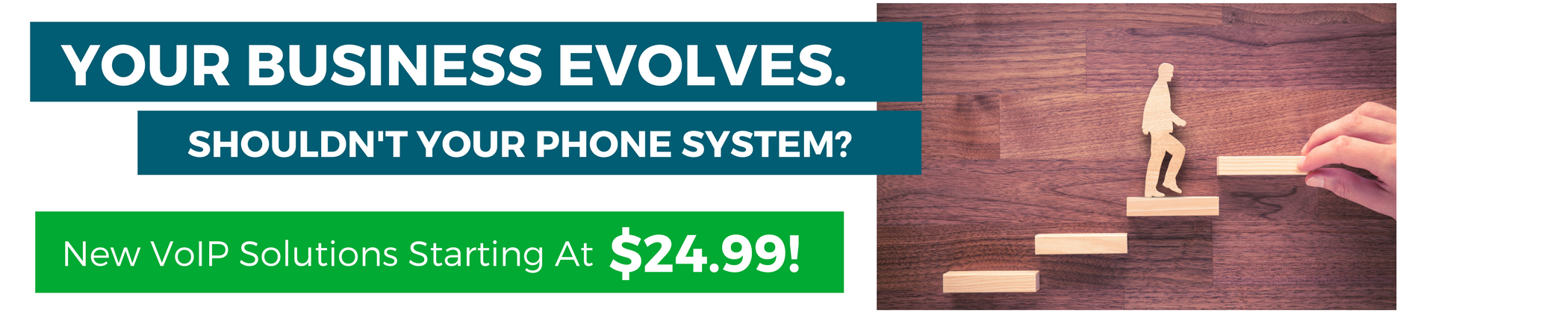 $24.99 VoIP Solutions Available for a Limited Time!
